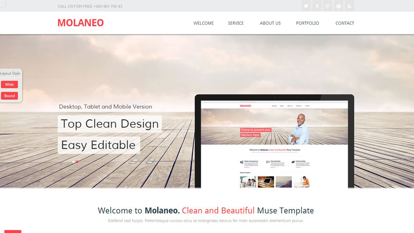 adobe muse mobile templates - 10 brilliant responsive adobe muse templates well made